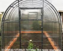 отзыв от покупателя теплицы ЗАВОДА ГОТОВЫХ ТЕПЛИЦ (Александр. г. Брянск)